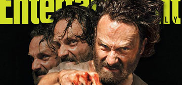 Norman Reedus vs. Andrew Lincoln: who has the hottest Walking Dead EW cover?