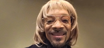 Snoop Dogg has a new white alter ego, Snoop Todd: funny or offensive?