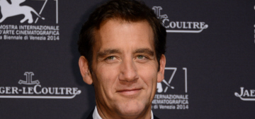 Clive Owen, 49, wears an unfortunate sweater in Venice: would you hit it?