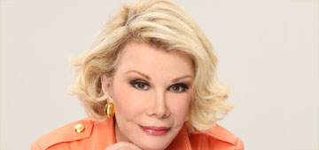 Joan Rivers remains on life support, has been getting her hair & makeup done