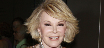 Prince Charles was close friends with Joan Rivers, which is kind of awesome