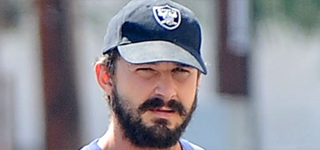 Shia LaBeouf's body-hugging, neon workout ensemble: flattering or awful?