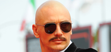 James Franco works a 1970s velvet suit in Venice: hot or weird?
