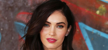 Megan Fox ditched hair extensions for a swingy new cut: looks good?