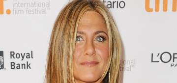 Jennifer Aniston wears an LBD for the TIFF premiere of 'Cake': cute?