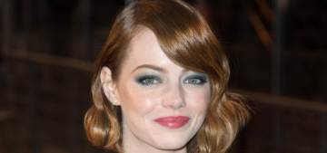 Emma Stone goes vintage-y in Chloe at Paris premiere: lovely or bland?