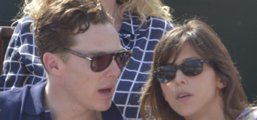 Benedict Cumberbatch's 'secret girlfriend' revealed as 36-year-old Sophie Hunter