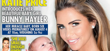 Katie Price waited four weeks to name her youngest daughter 'Bunny Hayler'