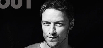 James McAvoy covers Out Mag, is ambivalent about Scottish independence