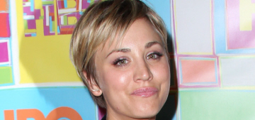 Kaley Cuoco has developed a strategy to avoid getting pap'd: O RLY?