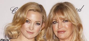Kate Hudson: 'Me & my mom Goldie Hawn can see dead people'