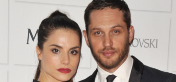 Tom Hardy & Charlotte Riley were quietly married in France back in July?