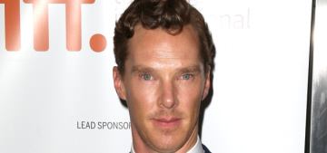 Benedict Cumberbatch attended a friend's wedding with his secret girlfriend