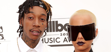 Amber Rose gets over $1 mil from Wiz Khalifa after 1 year of marriage: fair?