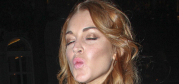 Lindsay Lohan thinks the play could totally be worse: 'I could've not shown up'