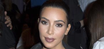 Kim Kardashian & Kanye bring North to the Givenchy show: ugh, enough?