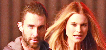 Adam Levine stalks Behati Prinsloo in bloody Maroon 5 video: disturbing?