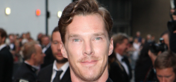 Benedict Cumberbatch's scraggly otter fur covers Time Out London: hot or not?