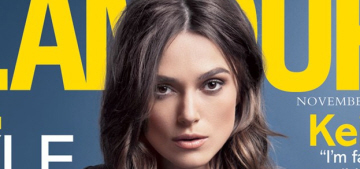 Keira Knightley: 'I don't think you can say that beauty is a curse'