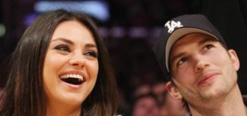 Mila Kunis & Ashton Kutcher welcomed a baby girl on Tuesday in LA