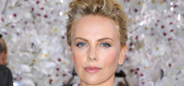 Charlize Theron is scowly, rude, unpleasant at her new SoulCycle studio