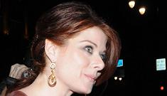 """Debra Messing's purse dress"" afternoon links"