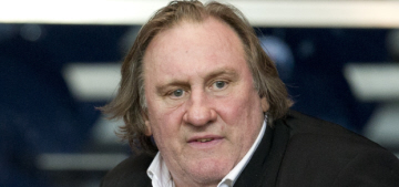 Gerard Depardieu claims in his memoir that he was a 'rent boy' at the age of 10