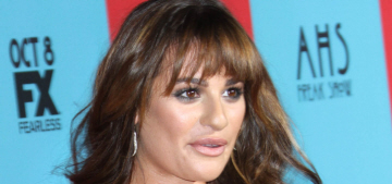 Jessica Lange totally ignored Lea Michele on the red carpet: hilarious or rude?