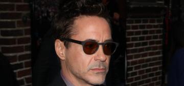 Robert Downey Jr. will ask Matthew Broderick's permission to speak to SJP