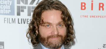 Zach Galifianakis: 'Being a celebrity is sh-t, it's dumb & I'm not interested in it'