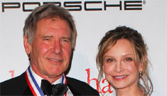 Calista Flockhart has not seen Star Wars, Harrison Ford is okay with that