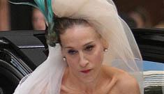 Sarah Jessica Parker regrets her black wedding dress