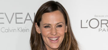 Jennifer Garner in a sparkly purple dress at Elle event: cute or too young?
