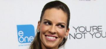 Hilary Swank pays veterinary bills for people who can't afford petcare