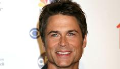 """Rob Lowe is 'too tan"""" according to TV bosses"""