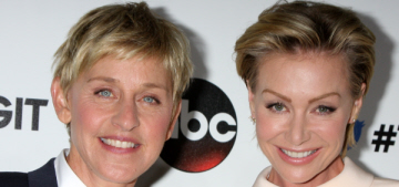 Ellen DeGeneres & Portia 'had an epic fight' & canceled on a charity event