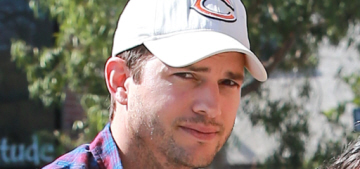 Ashton Kutcher: 'We don't have a nanny or a night nurse of any of the stuff'
