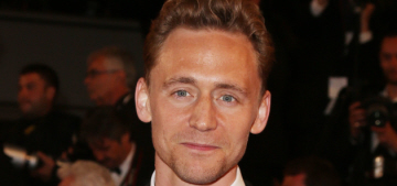 Tom Hiddleston posed in a 'This Is What A Feminist Looks Like' t-shirt: sexy?