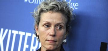 Frances McDormand: Botox & plastic surgery erase the 'roadmap' of life
