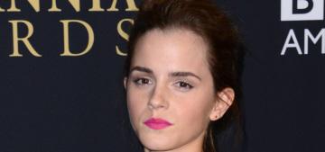 Emma Watson in Balenciaga at the BAFTA LA Awards: lovely or poorly styled?