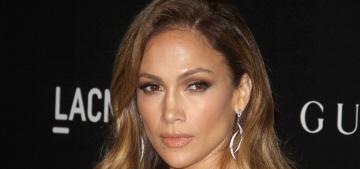 Jennifer Lopez in sparkly Gucci at LACMA gala: boringly glamorous?