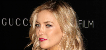 Kate Hudson in pale pink Gucci at the LACMA gala: gorgeous or blah?