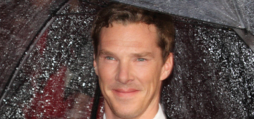 Benedict Cumberbatch & Sophie Hunter have only been together for 5 months?!