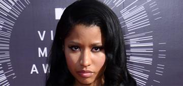 Nicki Minaj on the media: 'Shame on them for commenting on Anaconda'
