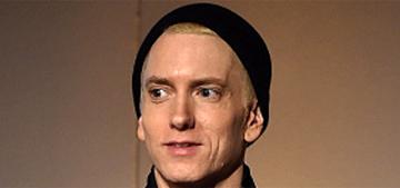 Eminem made a rare public appearance for Dre at WSJ Innovator awards