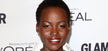Lupita Nyong'o in Chanel for the Glamour Women of the Year event: gorgeous?