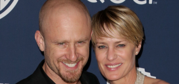 Robin Wright & Ben Foster call off engagement, 'Ben was kind of immature'