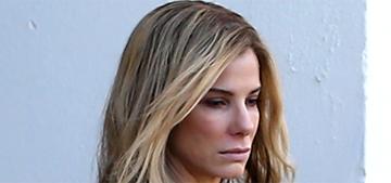 """Sandra Bullock as a blonde looks a lot like Jennifer Aniston"" links"