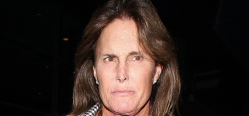 Bruce Jenner has been waxing his legs, wearing Spanx & taking Estrogen