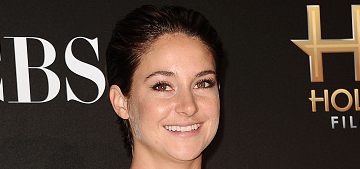 Shailene Woodley in Valentino at the HFAs: lovely or too mature?